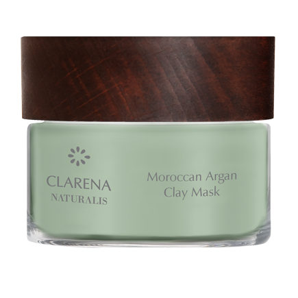 Moroccan Argan Clay Mask | Clarena