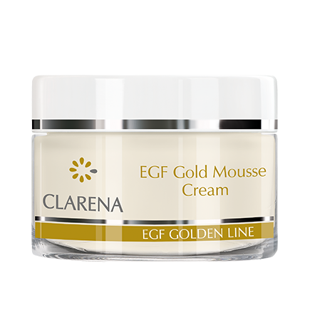 EGF Gold Mousse Cream detal | Clarena