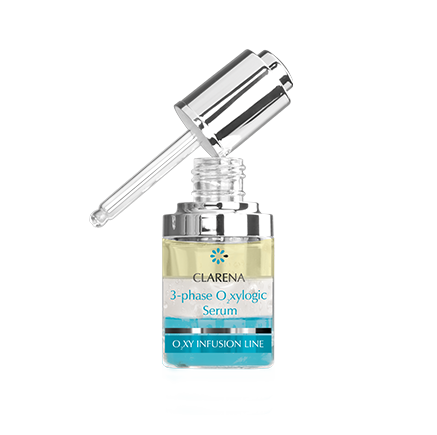 3-phase O2xylogic Serum | Clarena