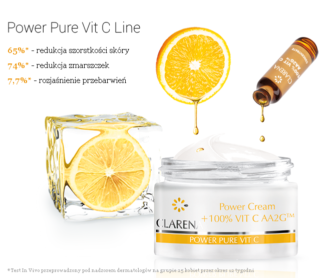 Power Pure Vit C Line - Clarena